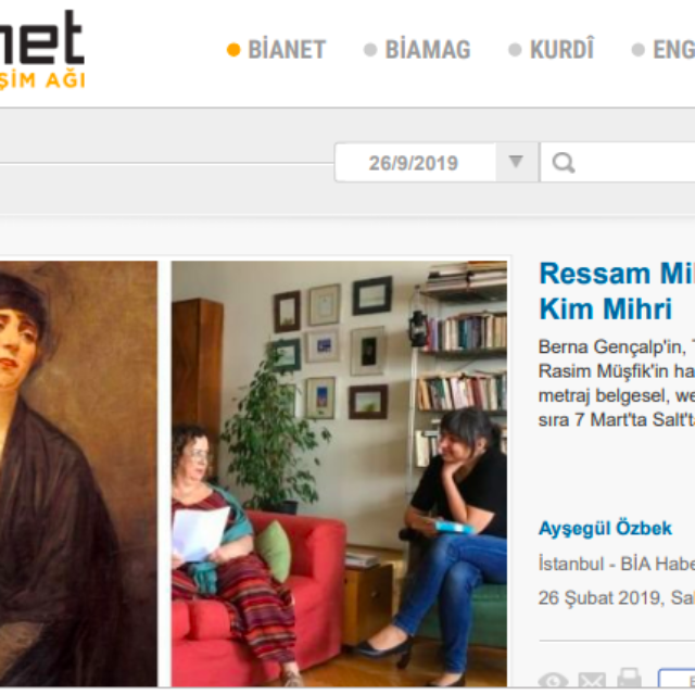 A Documentary Following the Traces of Mihri: Kim Mihri